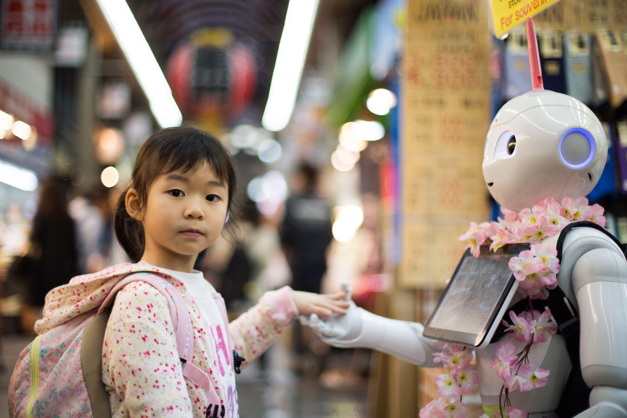 Anthropomorphisation des robots et sentiments