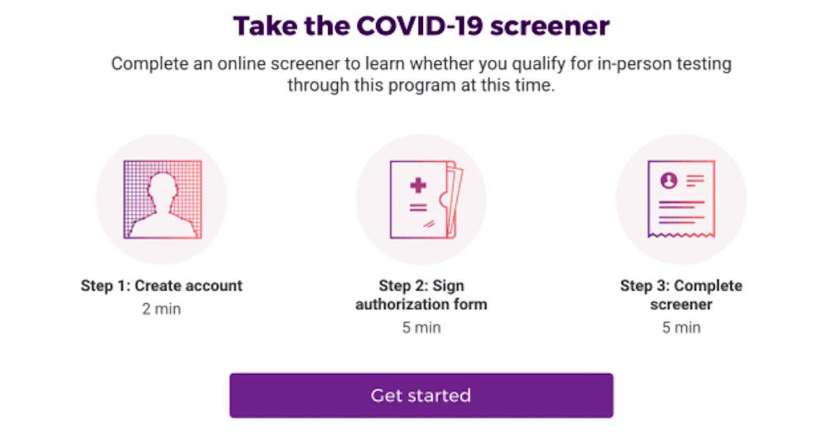 Verily lance une plateforme web dédiée au dépistage du Covid-19