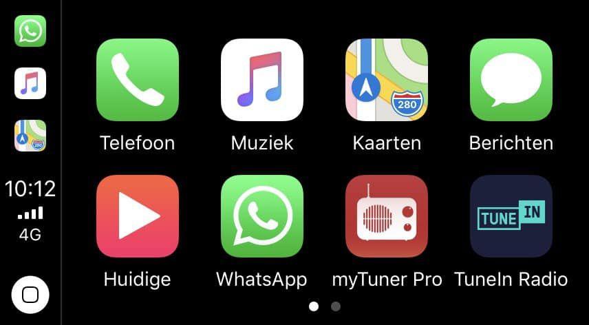 Affichage de WhatsApp