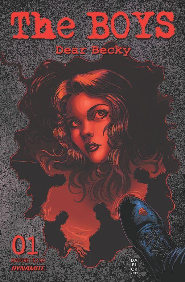 the boys dear becky #1 sequel comics avril 2020