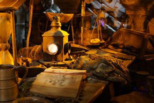 L'attraction d'Hagrid de Harry Potter