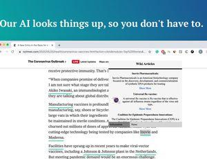 aperçu de WebCheck AI