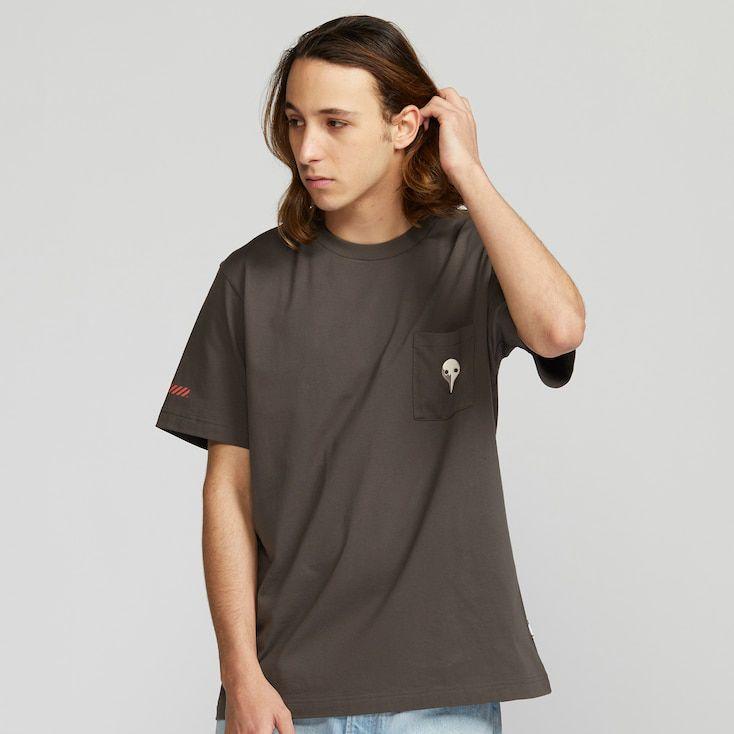 Mannequin portant un T-shirt Uniqlo x Neon Genesis Evangelion