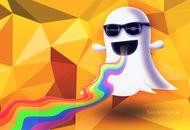 Illustration du logo de Snapchat