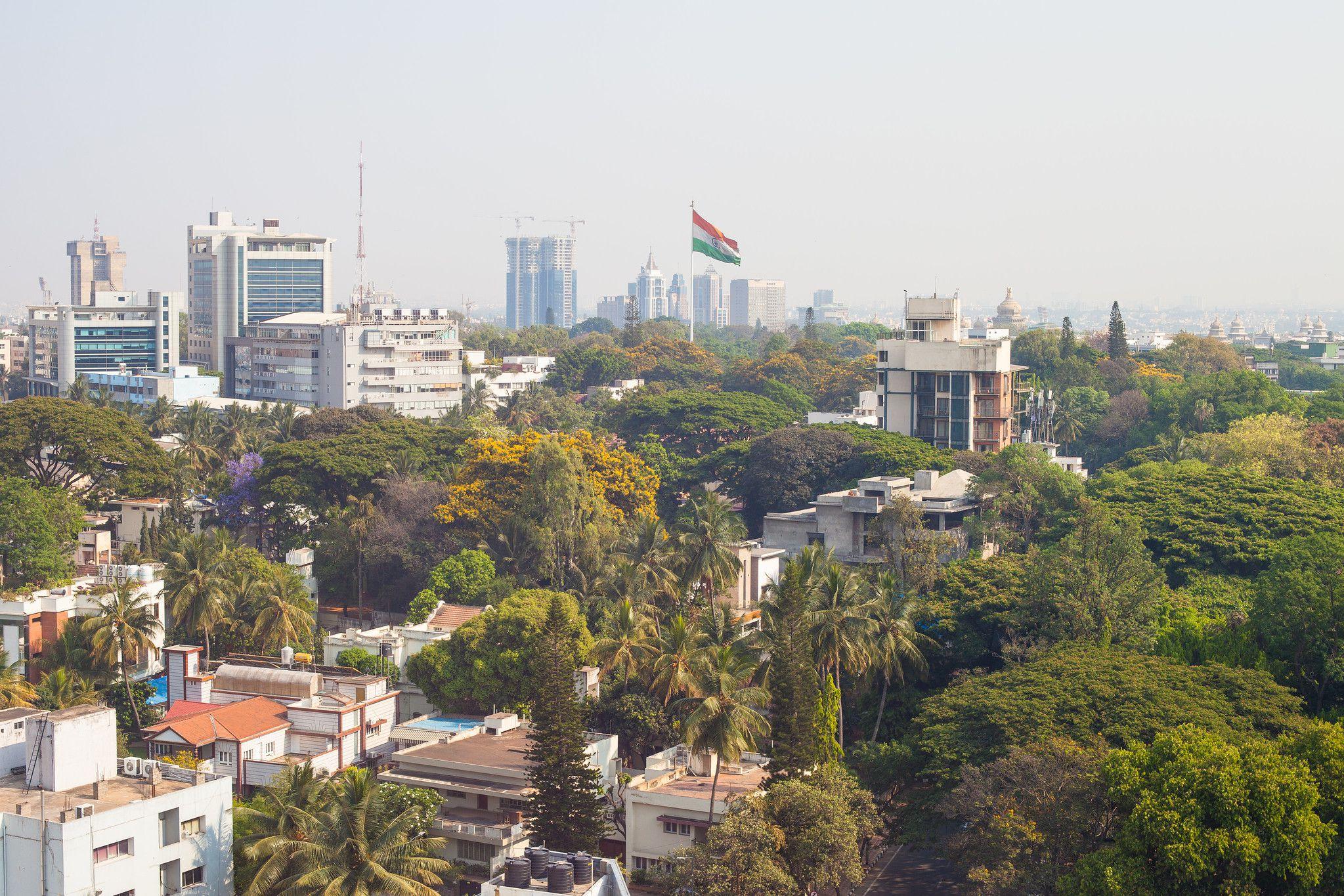 La ville de Bangalore en Inde.