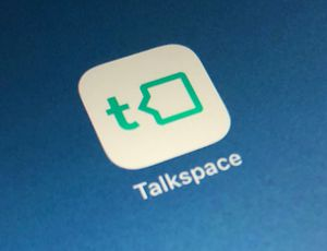Aperçu de l'application de Talkspace.