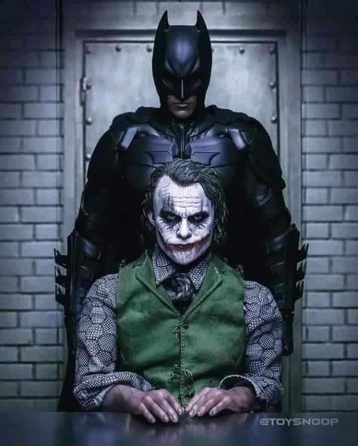 Evolution Joker/Batman