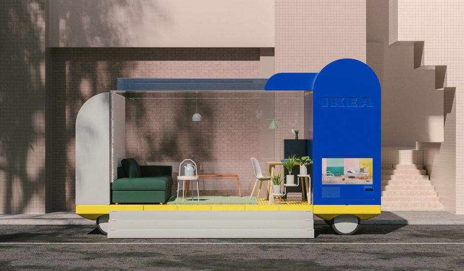 Ikea on Wheels