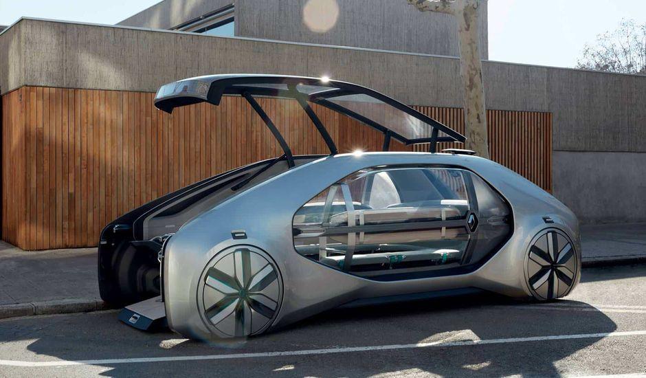 Renault autonome EZ-Go