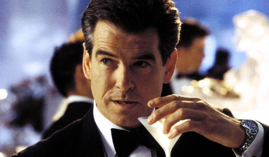 Pierce Brosnan incarnant James Bond