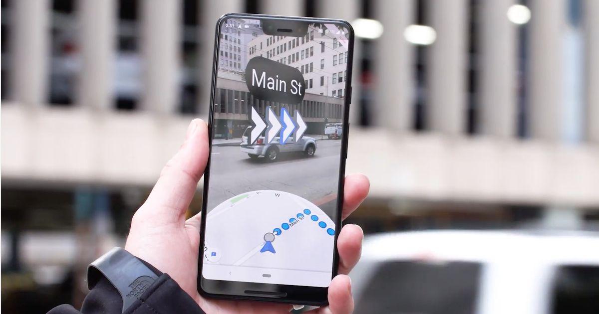 Google Maps pourrait bientôt mettre en avant les plans en réalité augmentée