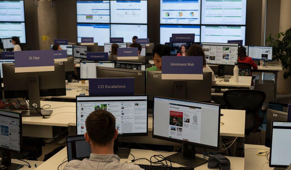 Facebook déploie une War Room à Dublin en vue des élections européennes