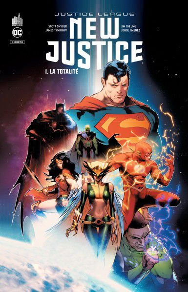 justice league new justice urban comics français