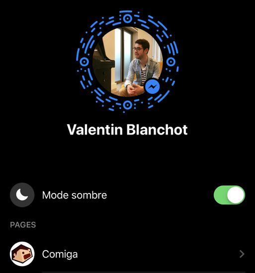 Comment activer le dark mode sur Facebook Messenger