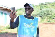 Aperçu d'un kenyan connecté grâce à Loon.
