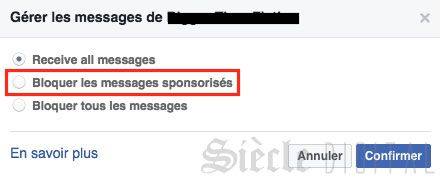 messange sponsorise facebook messenger