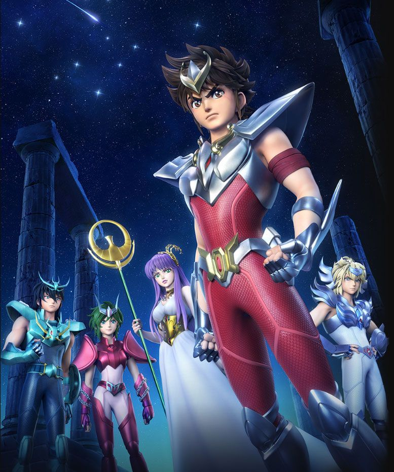 Saint Seiya : Knights of the Zodiac revisité par Netflix
