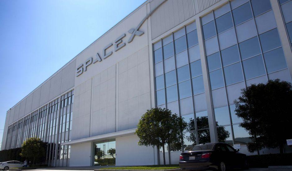 Le QG de SpaceX
