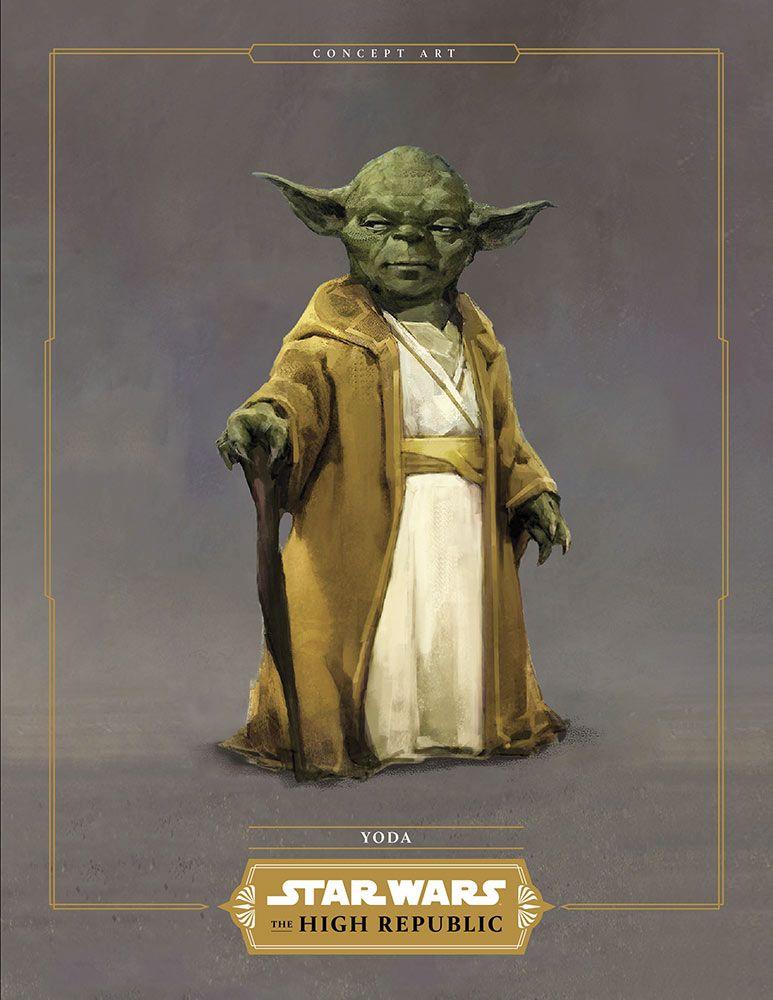 Maitre Yoda dans sa nouvelle tenue inspiré du temple des jeudis.