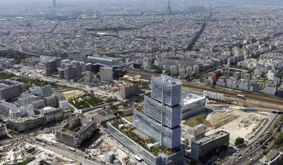 Photo du nouveau Tribunal de Grande Instance de Paris. Image : Tribunal De Paris