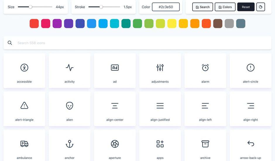 tabler icons présentation