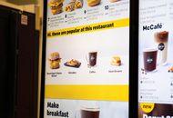 aperçu d'une borne McDonald's avec des items personnalisés