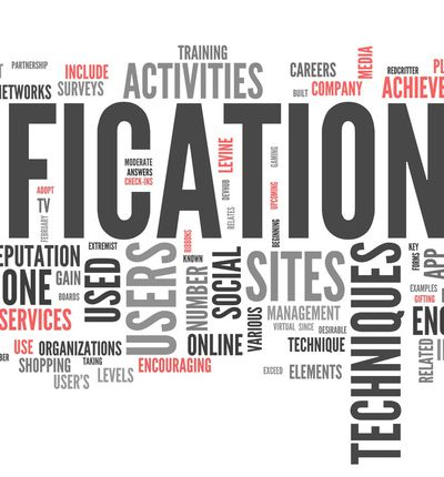 nuage de mot ludification gamification