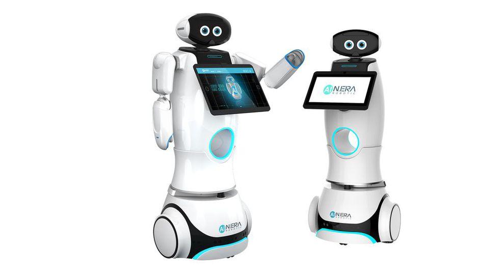 Robots aide courses phillipines centres commerciaux