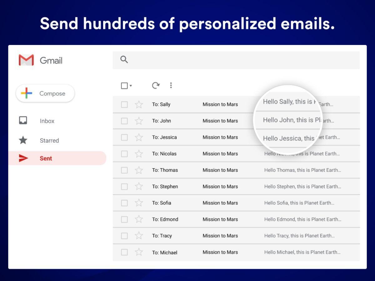 Mailmeteor : un outil gratuit pour envoyer des mails personnalisés en bulk à partir de Gmail