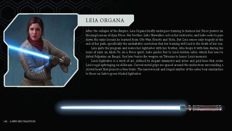 Le sabre laser de la Princesse Leia