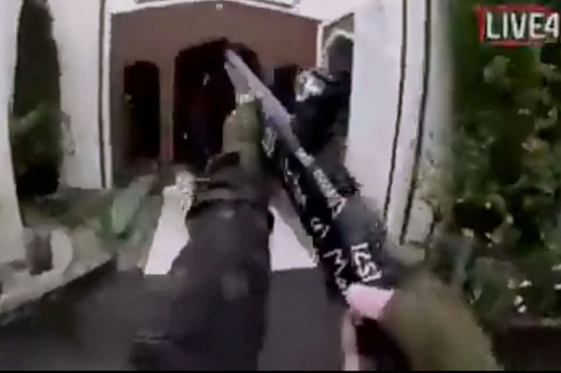 Attentat christchurch video