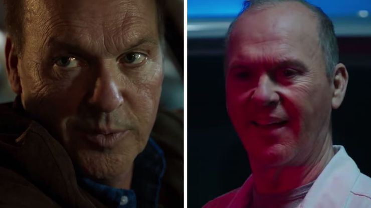 michael keaton spider man homecoming vs morbius le vautour