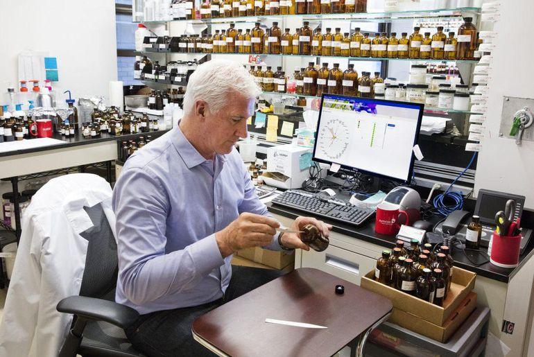 Le parfumeur David Apel de Symrise Master