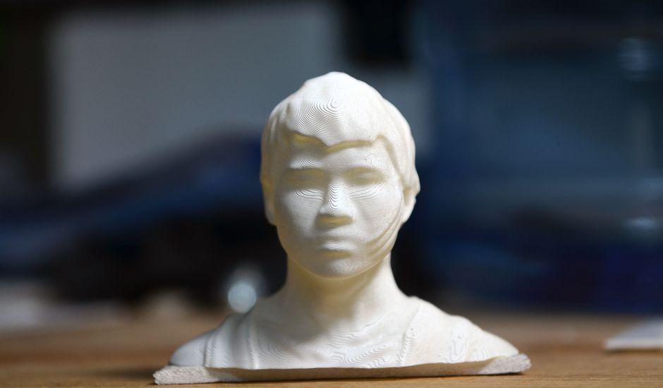 Les visages imprimés en 3D pourraient déverrouiller votre smartphone