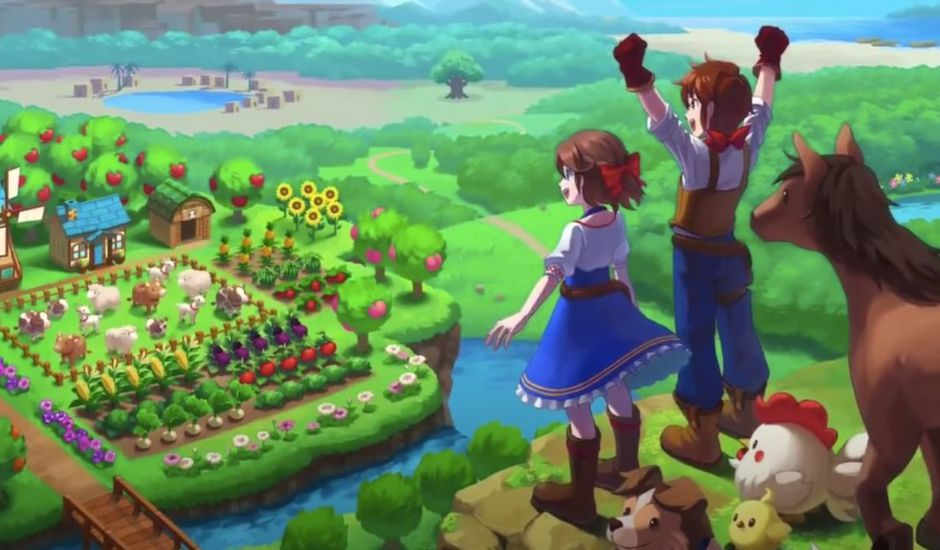 Visuel du jeu Harvest Moon : One World