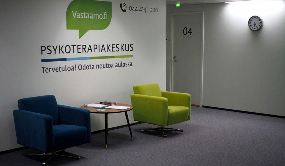 Les bureaux de Vastaamo