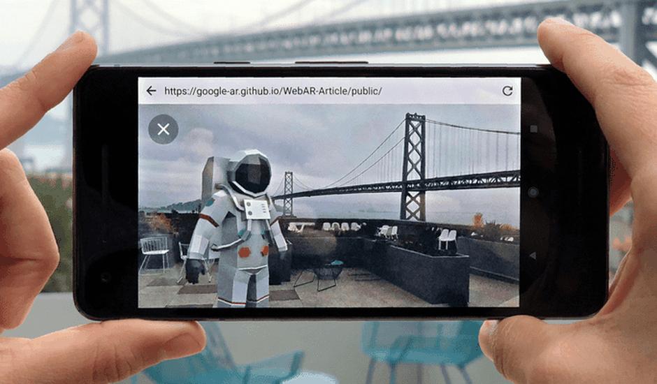 realité augmentée Google