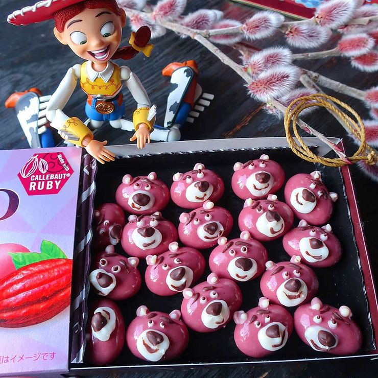 instagram maman cuisine plats trop mignons toy story