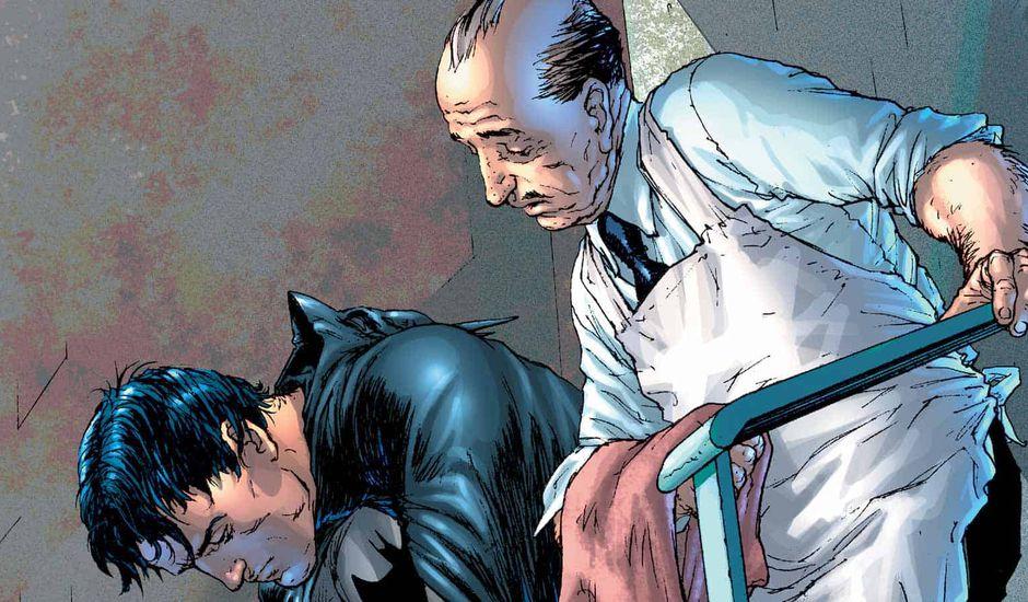 afred pennyworth batman comics