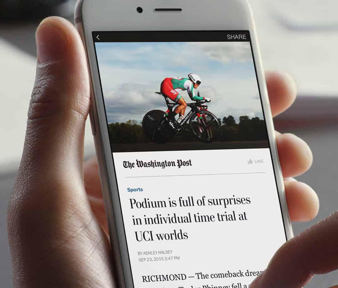 Instant Articles de Facebook