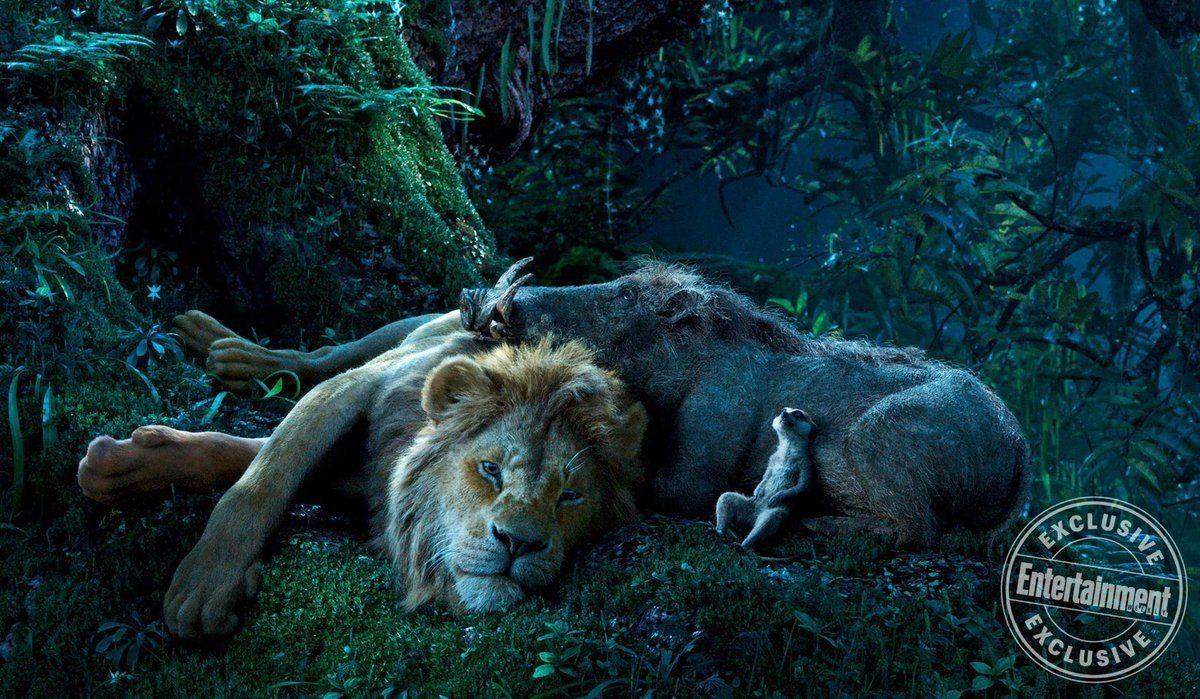 le roi lion film 2019 disney simba timon et pumbaa