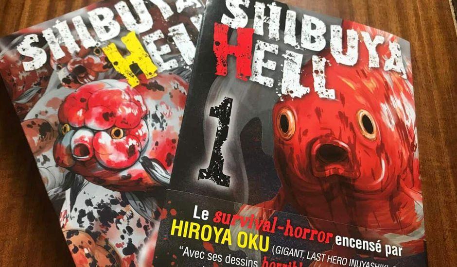 Les deux premiers tomes de Shibuya Hell