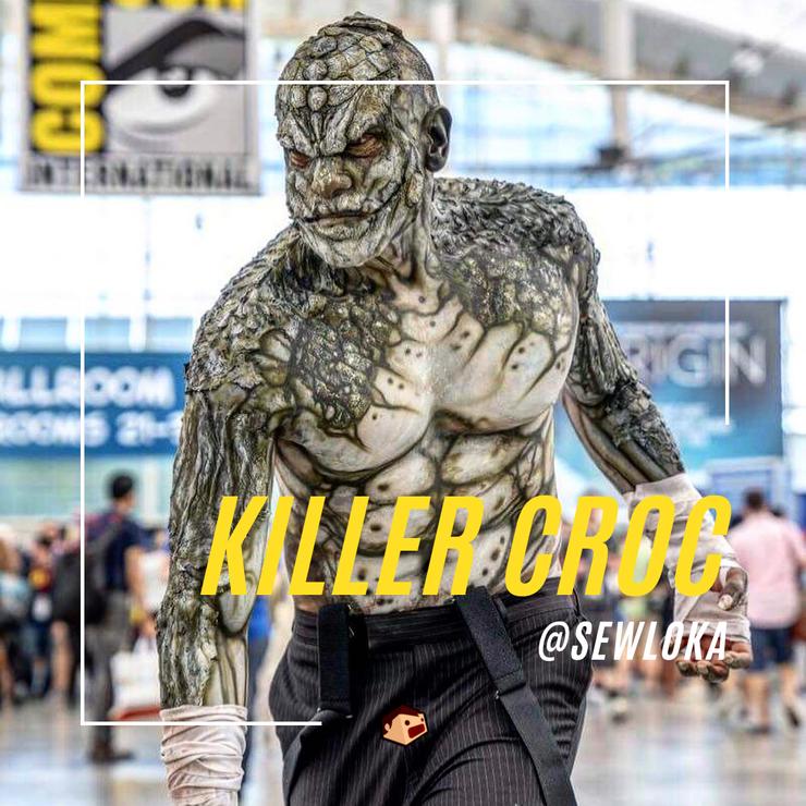 cosplay de killer croc dc