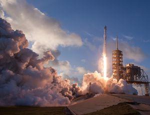 Lancement fusée
