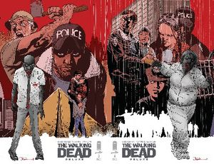 couvertures walking dead deluxe
