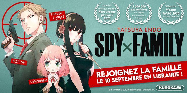 Image promotionnelle pour SPY×FAMILY