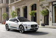 Voiture Jaguar Autonome avec Waymo