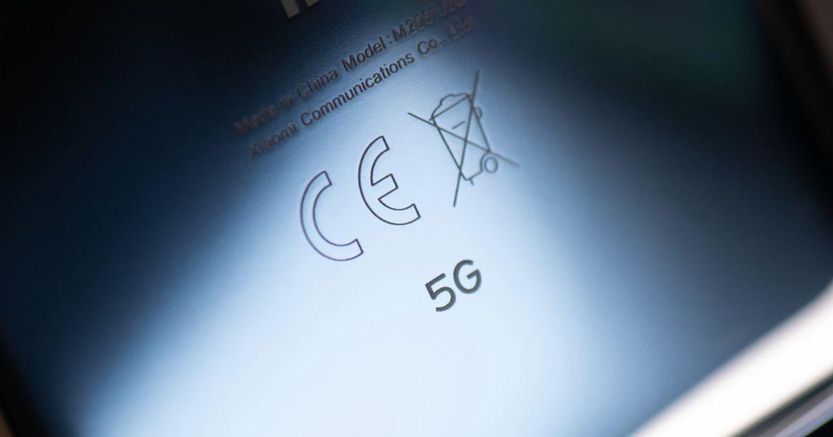 Aperçu d'un smartphone compatible 5G.