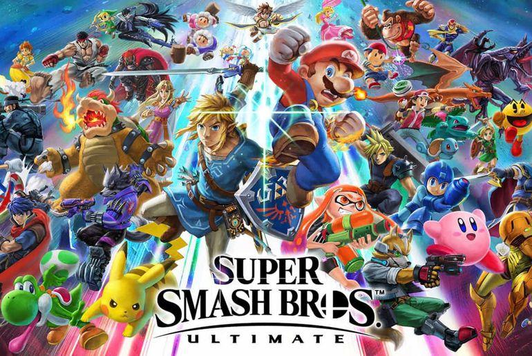Super Smash Bros Ultimate a leaké sur la toile