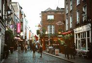 Photo d'un quartier de la ville de Dublin en Irlande